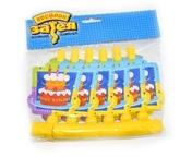 Язычок-гудок с картинкой Торт Birthday 6 шт/уп