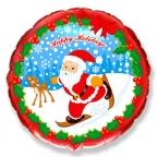 Круг / Дед мороз на лыжах