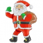 Шар Дед мороз с подарками