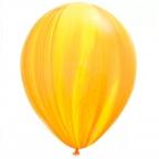 "Q 11"" Супер Агат Yellow Orange"