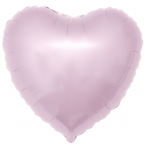 """Р Сердце 18""""/46см Светло-розовый"""