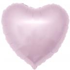 "Шар Р Сердце 18""/46см Светло-розовый"