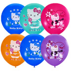 """М 12"""" Паст+Декор (шелк) 2 ст Hello Kitty"""