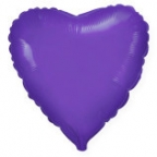 Шар Сердце Фиолетовый / Violet