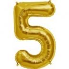 """Цифра """"5"""" Золото / Five"""
