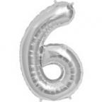 "Цифра ""6"" Серебро / Six"