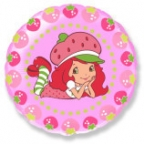 Круг / Девочка-Клубничка ягодки