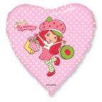 Сердце / Девочка-Клубничка с покупками