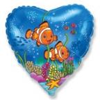Сердце / Рыбки-клоуны