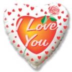 Сердце / Я тебя люблю Роза