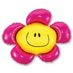 Цветочек малиновый