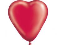 Шар Сердце Пастель Красное /Ит