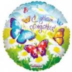 K Круг РУС-5 С Днем Рождения Бабочки