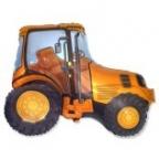 Шар Трактор оранжевый