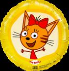 Шар Круг /Три кота, Карамелька, Желтый