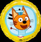 Шар Круг /Три кота, Коржик, Желтый