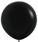 Шар 1 метр пастель Черный
