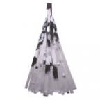 Помпон-кисточка Серебро фольга 10 листов