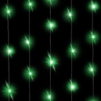 Светодиодная нить Зеленого свечения, 3м, 30 Led