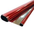 Пленка Металл Красная 190г 40мкм / рулон