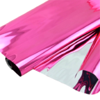 Пленка Металл Розовая 190г 40мкм / рулон