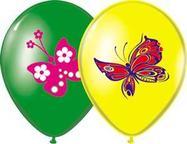 "Шар с рис.14"" Бабочки 3 цв"