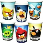 Шар Стакан Angry Birds 250 мл 6шт/уп