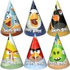 Шар Колпак Angry Birds 6 шт/уп