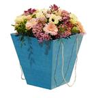 Коробка для цветов Синяя