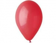 Шар Италия Пастель Красный / Red R-05