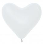 Шар S Сердце Белый / White