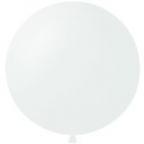 Шар 1 метр Белый