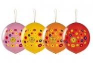 Шар Панч-болл с рисунком Цветы многоцвет