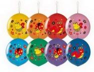 Шар Панч-болл с рисунком Насекомые многоцвет
