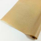 Крафт - Бумага верджтрованная однотонная без печати / рулон