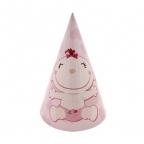 Шар Колпачок С днем Рождения, Малыш розовый