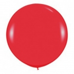 Шар Олимпийский пастель Красный