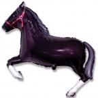 Шар Лошадь черная