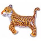 Шар Леопард синий