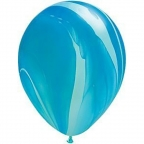 "Шар Q 11"" Супер Агат Blue"