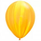 "Шар Q 11"" Супер Агат Yellow Orange"