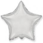 Шар Звезда Серебро / Silver