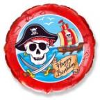 Шар Круг / Пираты С днём рождения