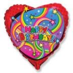 Шар Сердце / Звёзды С днём рождения