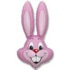 Шар Кролик розовый