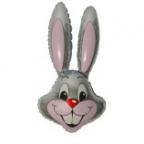 Шар Кролик серый
