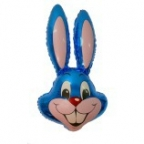 Шар Кролик синий
