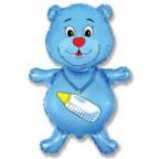 Шар Медвежонок мальчик