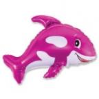 Шар Дружелюбный кит фуксия