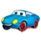 Шар Машина Тачка синяя